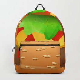 Close Encounter of the Cheeseburger Backpack