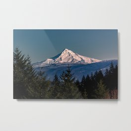 Mt. Hood Memories - 120/365 Nature Photography Metal Print