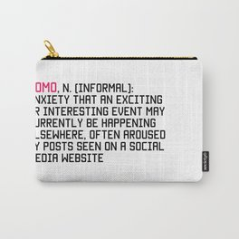 FOMO Carry-All Pouch