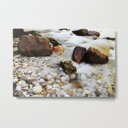 Torrent in the mountains Metal Print