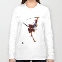 samurai Long Sleeve T-shirts featuring Samurai by youcoucou