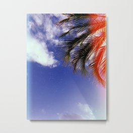 I Looked Up Metal Print