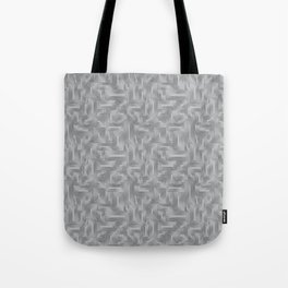 Kip and Flo in Grey on Grey Tote Bag