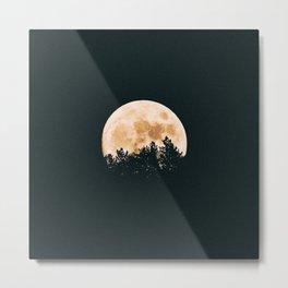 Mystic Moon Metal Print