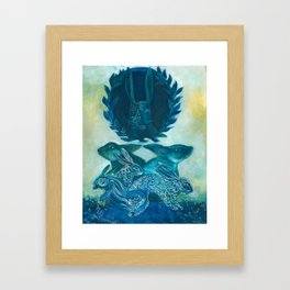 Rabbit Gods Framed Art Print