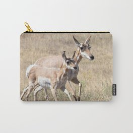 Watercolor Pronghorn Antelope 17, Wyoming Carry-All Pouch