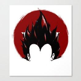Prince Vegeta Canvas Print