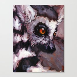 Straight Outta Madagascar Canvas Print