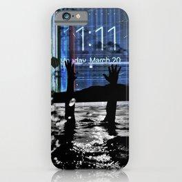 Modem Sea iPhone Case