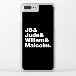 JB Clear iPhone Case