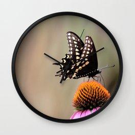 Butterfly Beauty Wall Clock