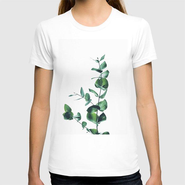 Eucalyptus branch T-shirt