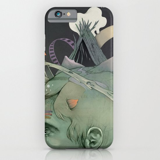 The traveler dreams iPhone & iPod Case