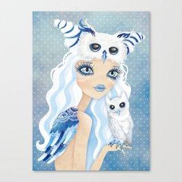 Owl Duchess Canvas Print