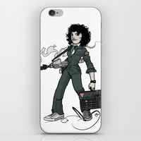 ripley iPhone & iPod Skins featuring Ripley  by shugmonkey
