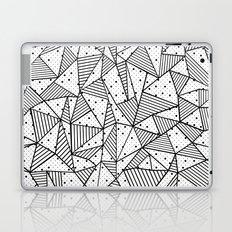 Abstract Spots Laptop & iPad Skin