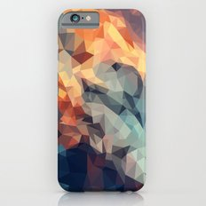 Mountain low poly iPhone 6s Slim Case