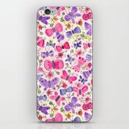Happy Butterflies iPhone Skin