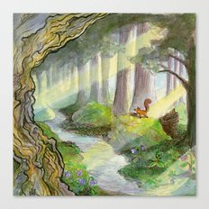 Forest of Ithilien Canvas Print