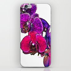 :: Orchids at Breakfast :: iPhone & iPod Skin