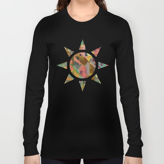 Aztec Vintage Pattern 03 Long Sleeve T-shirt