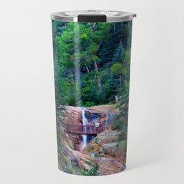 Colorado seven Falls Rocky Mountain's Travel Mug