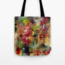 525,600 Minutes Collage Tote Bag