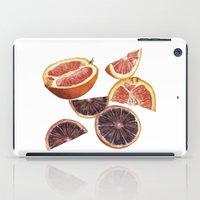 cara iPad Cases featuring Cara Cara + Blood Oranges by Helen Krayenhoff