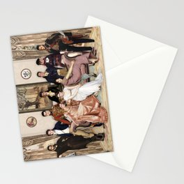 Pride and Prejudice and Werewolves Stationery Cards