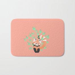 Baby Red Panda / Grapefruit Bath Mat