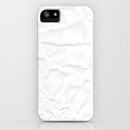 Paper, fold iPhone Case