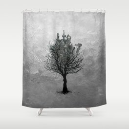 TREEHOUSE N.1 Shower Curtain