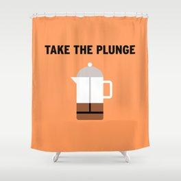 Plunge Shower Curtain