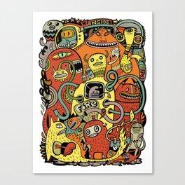Warm in Canvas Print