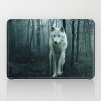 sansa stark iPad Cases featuring Wolf by Julie Hoddinott