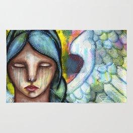Crying Angel Rug