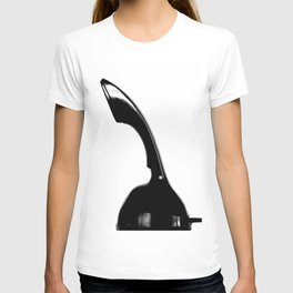 Something Nostalgic - Phone - Black and White #decor #society6 #buyart T-shirt
