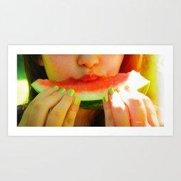 Summertime Bliss Art Print