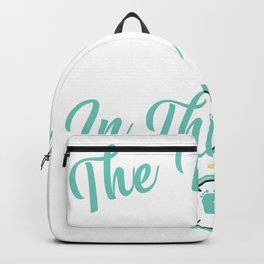 Thanksgiving Baby Announcement Gender Reveal Party Backpack