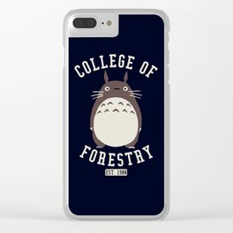 College of Forestry ghibli Clear iPhone Case
