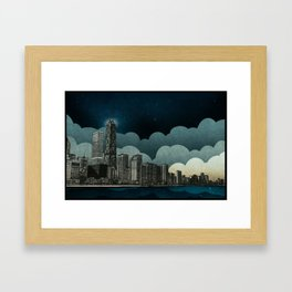 And the Embers Never Fade Framed Art Print