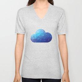 Cloud Of Data Unisex V-Neck