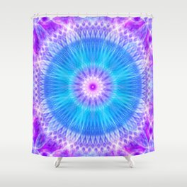 Portal of Life Mandala Shower Curtain