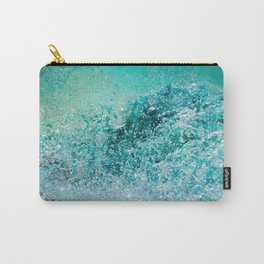 Turquoise Wave - Blue Water Scene Carry-All Pouch