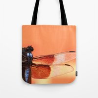 stained glass Tote Bags featuring Stained Glass by Mark Alder