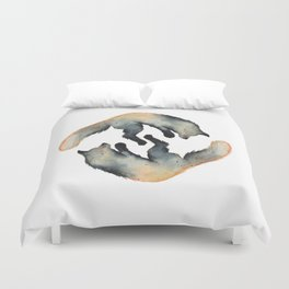 Foxy love Duvet Cover