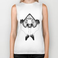 wicked Biker Tanks featuring Wicked by Bad Mystic