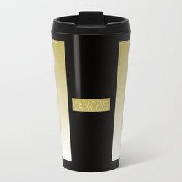 Tangent Metallic Gold Travel Mug