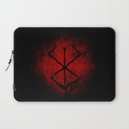 Black Marked Gatsu Laptop Sleeve