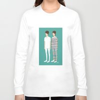 tegan and sara Long Sleeve T-shirts featuring Tegan and Sara: Call It Off by Cas.